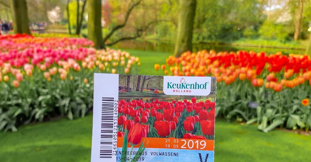 Keukenhof ticket price  or Keukenhof  Gardens entrance fee can be found in this article on the tulip garden Amsterdam
