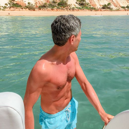 Take a boat trip to see the Faro Portugal beaches
