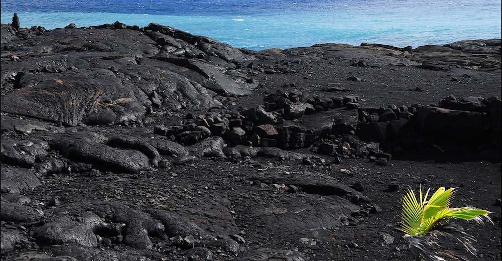 New Kaimu Black sand beach is one of the best beaches on the Big Island