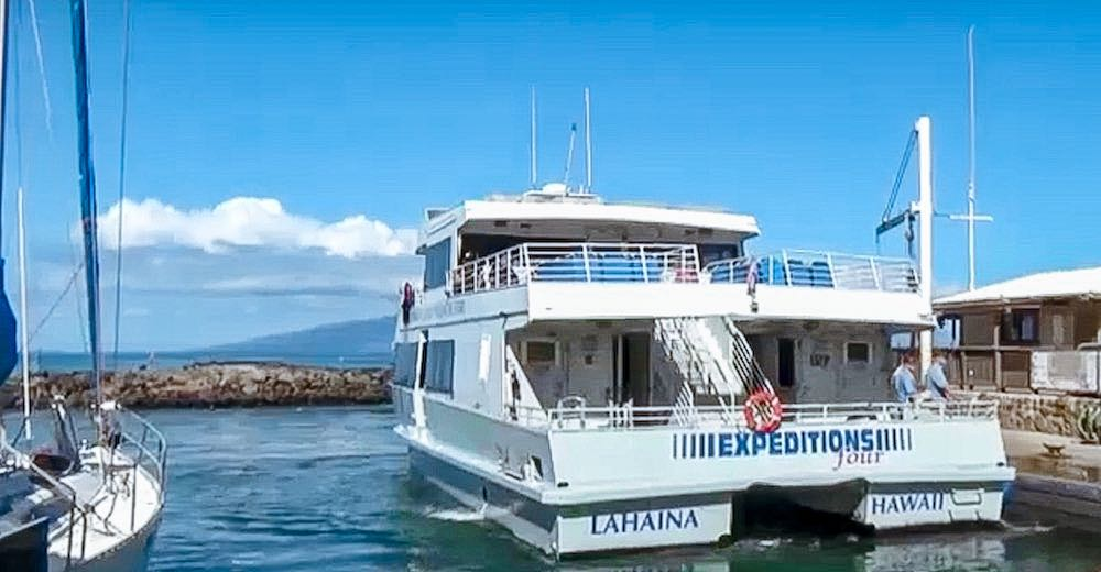 The island hopping Hawaii ferry service is only available for travel between Hawaiian islands ferry ports in Maui and Lanai