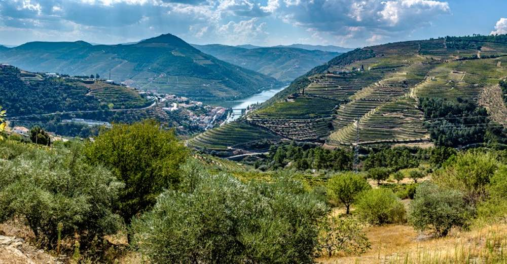 A Lisbon to Porto drive could very well include a stop in the Douro Valley