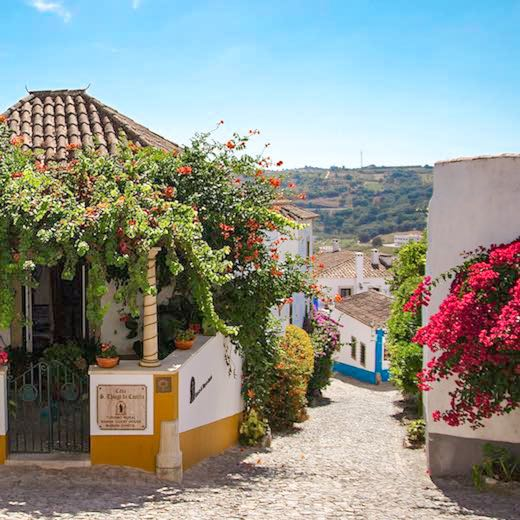 Visit Obidos when you stay in Portugal for 2 weeks