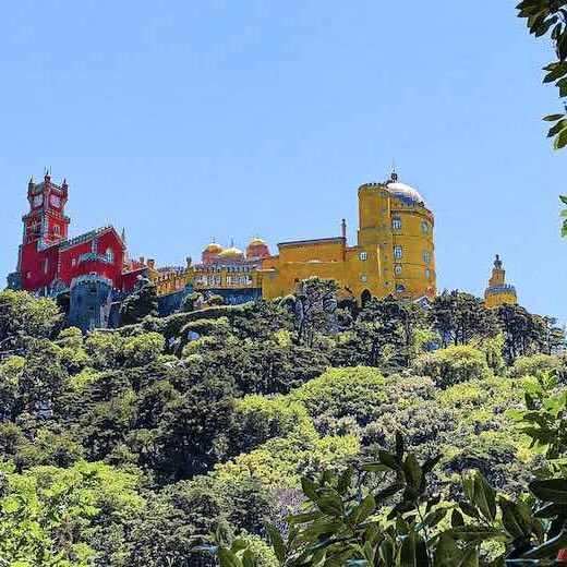 Visiting Sintra is a must during any Portugal road trip 7 days