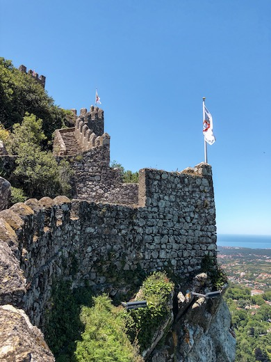A day trip to Sintra is included in this Portugal tour itinerary