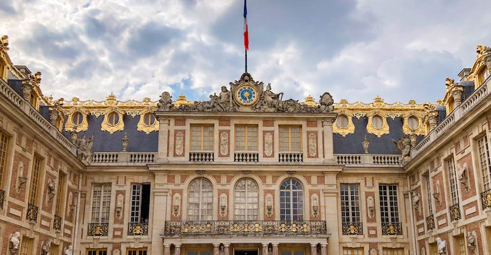 Entrance to the Château de Versailles