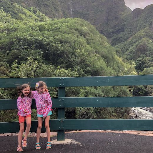 The Iao Valley hike is one of our favorite Maui kid friendly activities