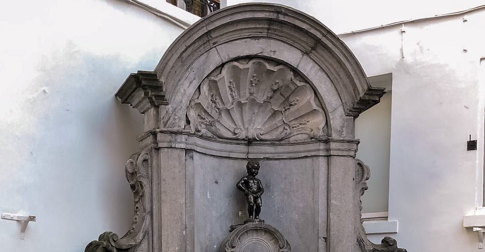 Manneken Pis statue is one of the top attractions on your 1 day itinerary in Brussels