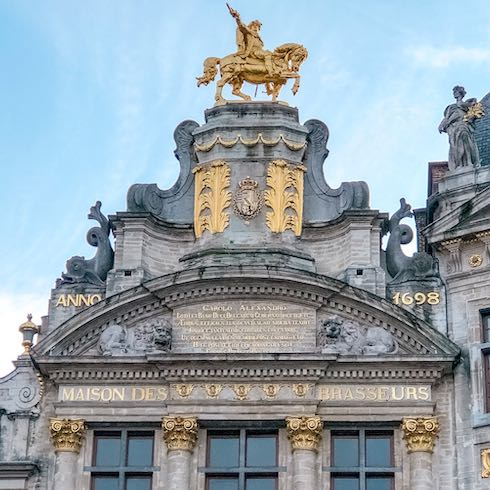 The Grand Place is a must-see when you're only spending 1 day in Brussels