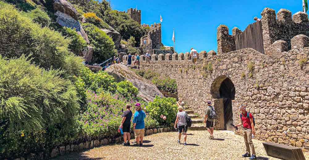 A visit to the Moorish Castle is the highlight of any day trip Lisbon to Sintra