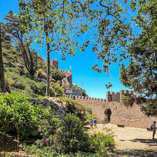 No Sintra 1 day itinerary is complete without a visit to the Moorish Castle