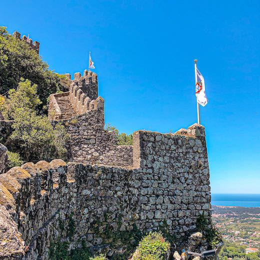 The best Sintra tour excursions include a visit to the Moors Palace