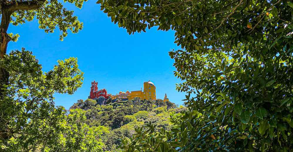 The highlight of any Sintra itinerary is a visit to the Park and National Palace of Pena
