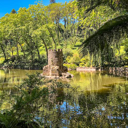 No Sintra day trip itinerary is complete without a visit to Pena Park
