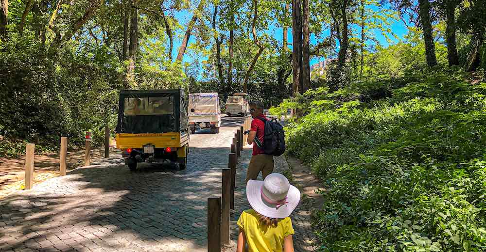 This Sintra itinerary includes the best ways to travel to Sintra from Lisbon as well as how to get around in Sintra