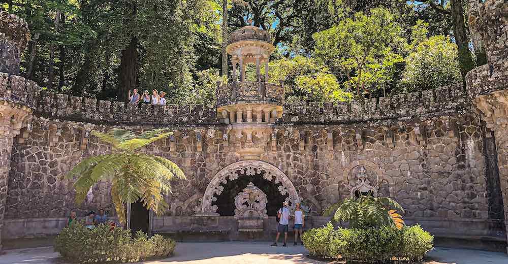The Quinta da Regaleira Gardens are mentioned in every Portugal guide