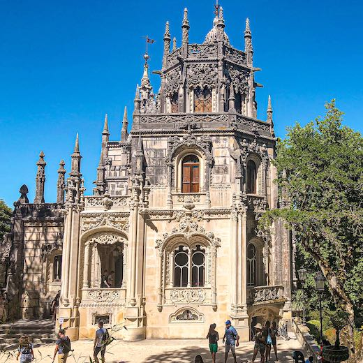 Quinta da Regaleira is one of the most popular Portugal Sintra day trip sights