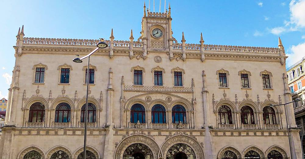 Rossio Station is where to take the train from Lisbon to Sintra, a Unesco World Heritage Site