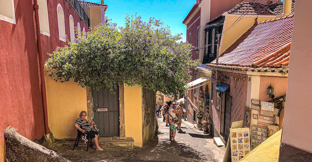Any day trip to Sintra itinerary should include a visit to the charming historic centre