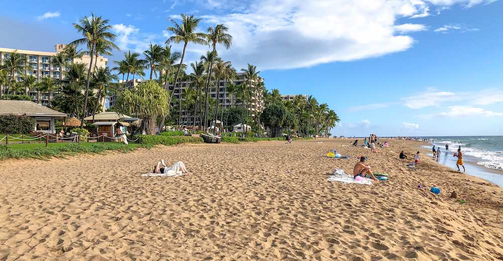 Plenty of Maui activities on offer in this tourist resort, from Ka'anapali golf to organized tours and watersports