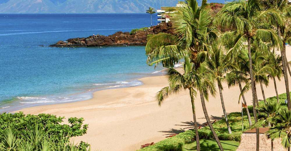 Black Rock Maui is the location for a daily torch lighting and cliff diving ceremony
