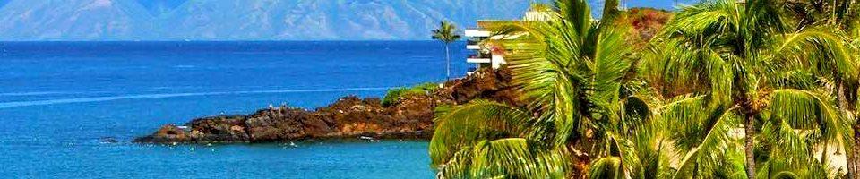 Kaanapali, Maui's popular resort destination at Black Rock