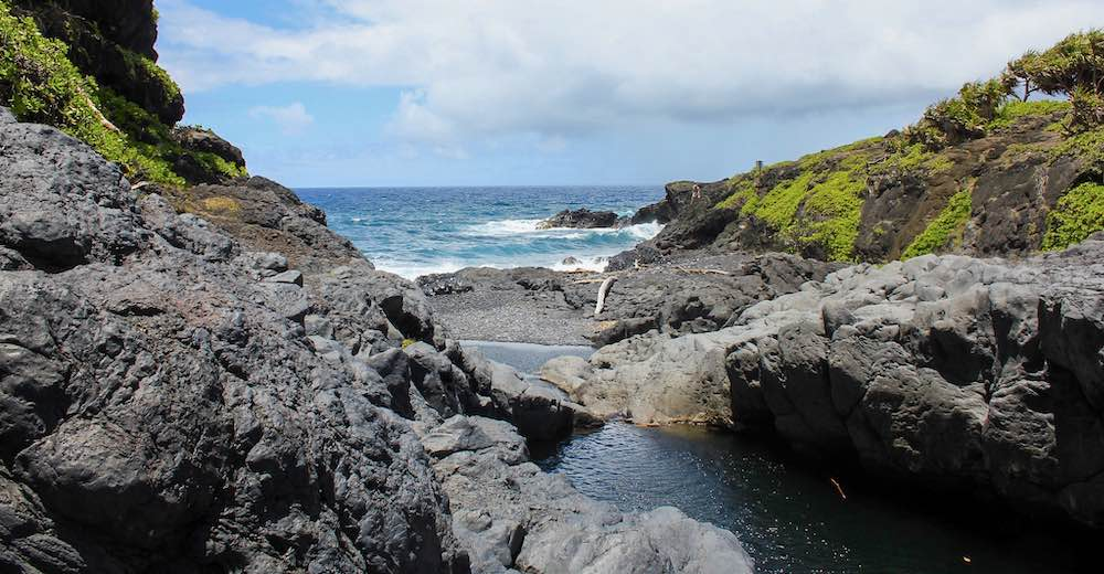 Oheo Pools past Hana Hawaii