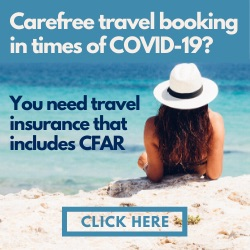 Travel insurance CFAR