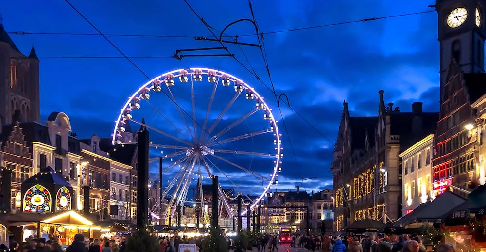 Christmas in Ghent is a magical experience