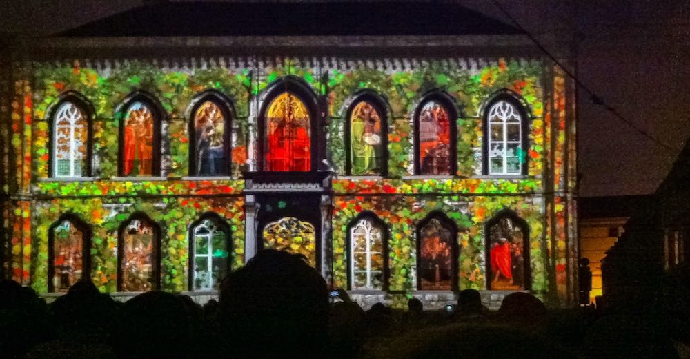 Impression of the Ghent Light Festival