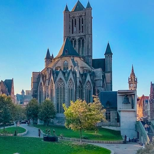 Saint Nicholas Church in Ghent
