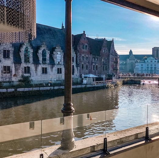 The best way to visit Ghent is just to stroll around while keeping your eyes peeled