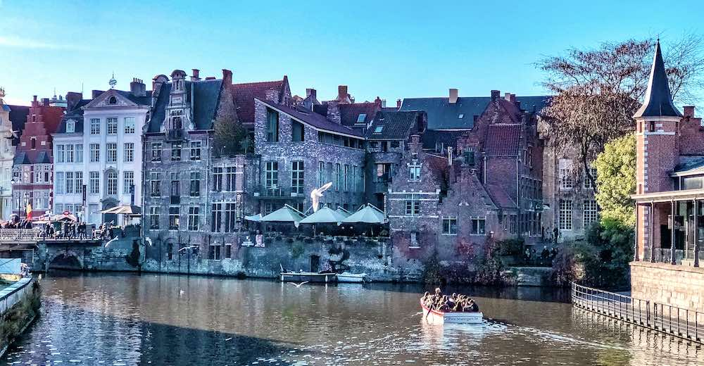 Taking a boat ride is one of the top things to do in Ghent
