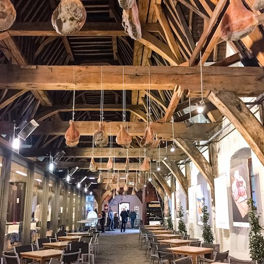 Visiting the Great Butcher's Hall is a Ghent must-do