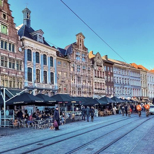 Korenmarkt is one of the best places to visit in Ghent