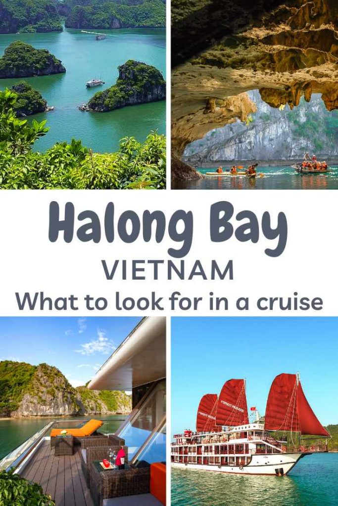 The ultimate guide to cruising Halong Bay in Vietnam. #travel #asia #vietnam #halong #halongbay #cruise