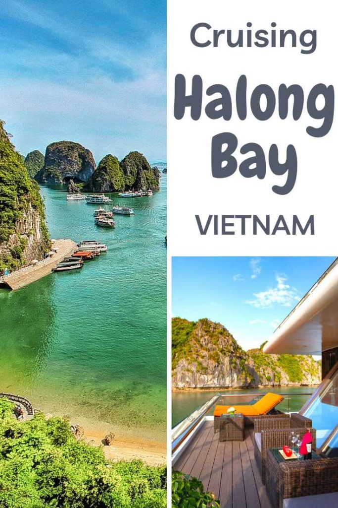 What to look for in a Halong Bay cruise. Avoid tourist trips and pick the right cruise. #travel #asia #vietnam #halong #halongbay #cruise