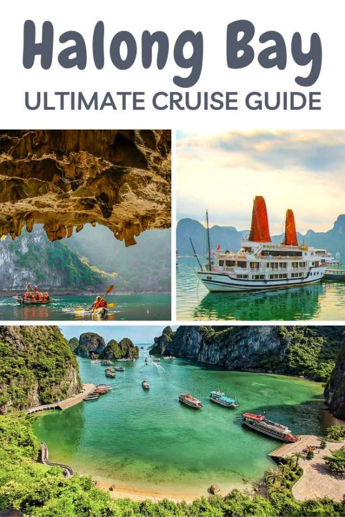 How to choose the Halong Bay cruise that's right for you. Check out this detailed guide on one of the World's Seven Wonders. #travel #asia #vietnam #halong #halongbay #cruise