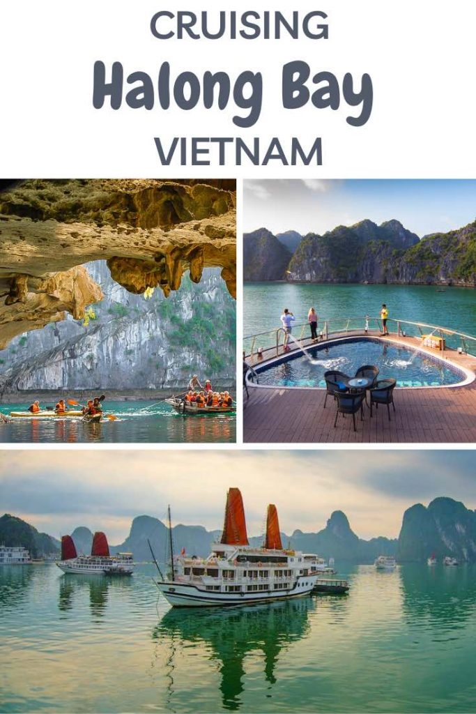 The ultimate guide Halong Bay cruising guide, with tips and tricks to choosing the right Halong Bay cruise in Vietnam. #travel #asia #vietnam #halong #halongbay #cruise