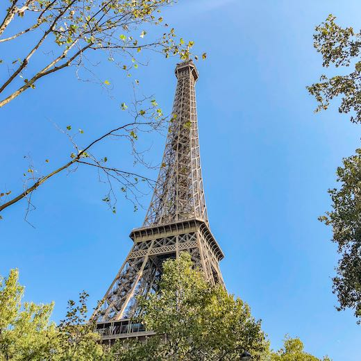 Visiting the Eiffel Tower is one of the essential things to do in Paris in 4 days