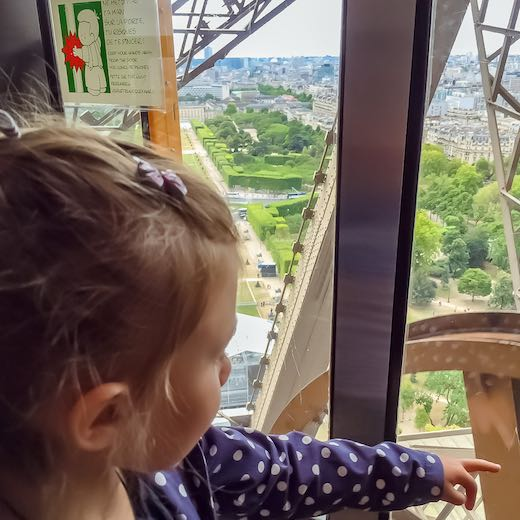 Consider if your want to go on the Eiffel Tower during your 4 day itinerary Paris