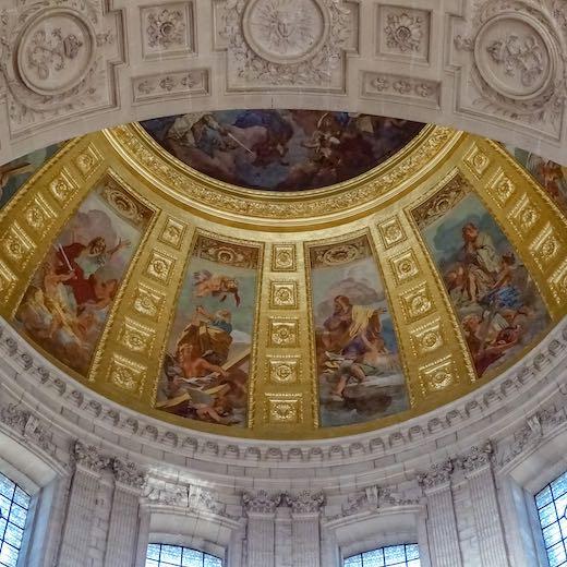 Inside les Invalides Paris