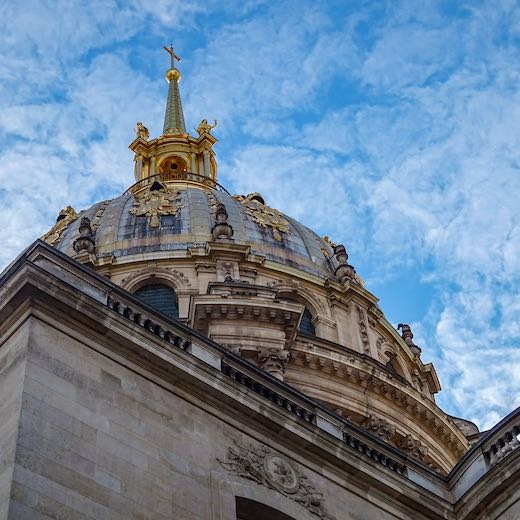 If you wonder what to do in Paris in 4 days then we'd recommend a visit to Les Invalides
