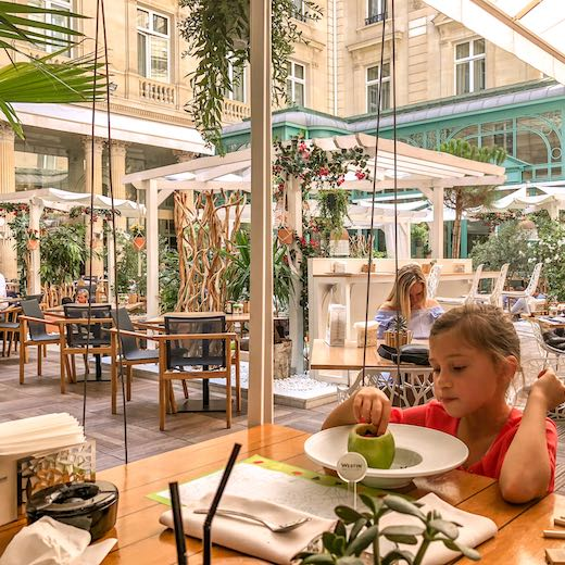 Lovely lunch at the Westin Paris Vendome