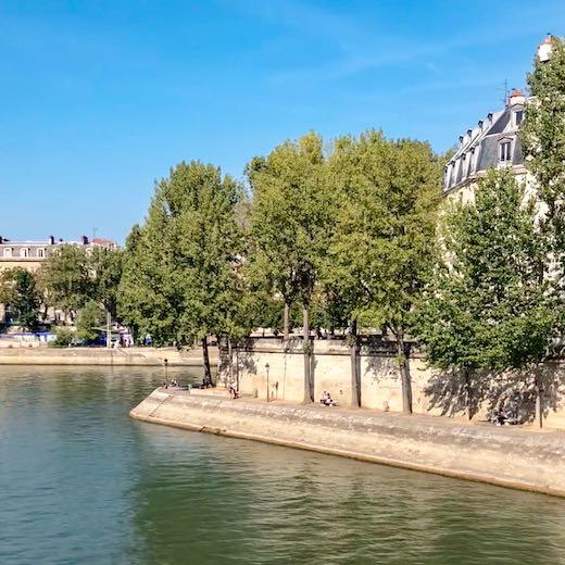Seine River in the heart of Paris