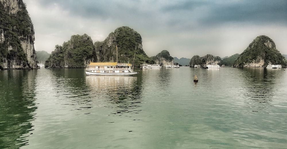 Weather at Halong Bay can be unpredictable so it's important to know the cancelation policy of your cruise line before booking
