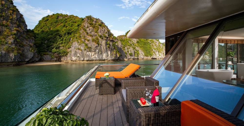 Halong bay offers a variation of cruises luxury cruises family cruises honeymoon cruises small boat cruises private cruises