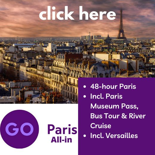 Go Paris Card is perfect for your 4 day Paris itinerary