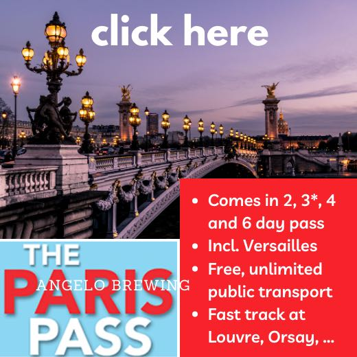 Paris Pass is perfect for your 4 day Paris itinerary