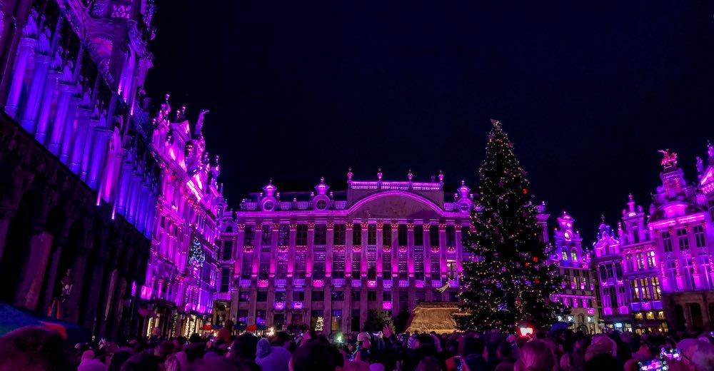 Brussels at Christmas stands for a magical experience