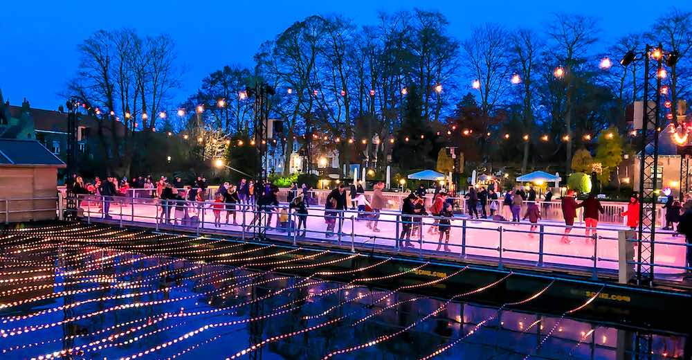 Minnewater is the newest location for the Bruges Christmas market 2020